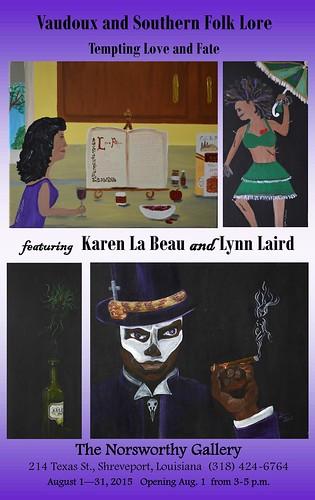 Lynn Laird, Karen LeBeau at Norsworthy Gallery