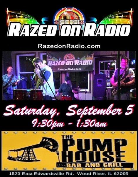 Razed On Radio 9-5-15