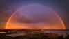 Rainbow over Henningsvær