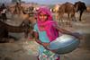 Muskan. Pushkar, India