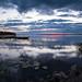 Dawn lakescape by jarnasen