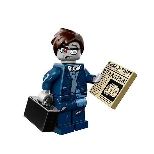 LEGO 71010 Collectible Minifigures Series 14 13 - Zombie Businessman