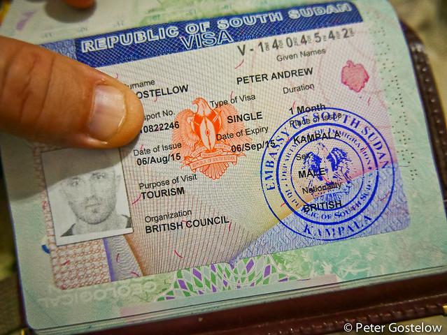 South Sudan Visa