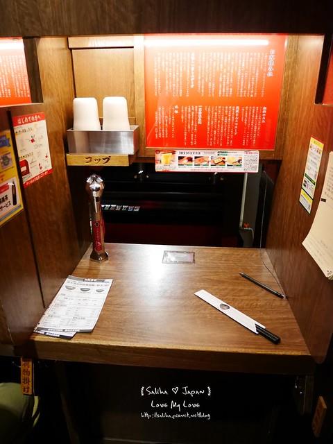東京自由行必吃上野美食一蘭拉麵 (6)