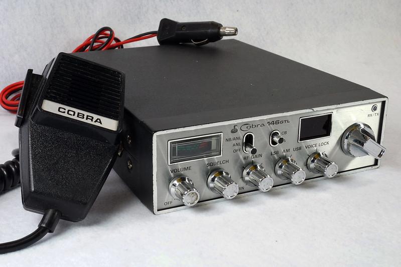 RD15026 Vintage Cobra 146 GTL AM SSB CB Radio DSC07754