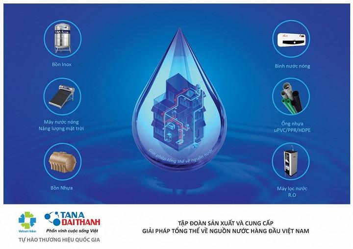 Giải pháp tổng thể về nguồn nước của Tập đoàn Tân Á Đại Thành