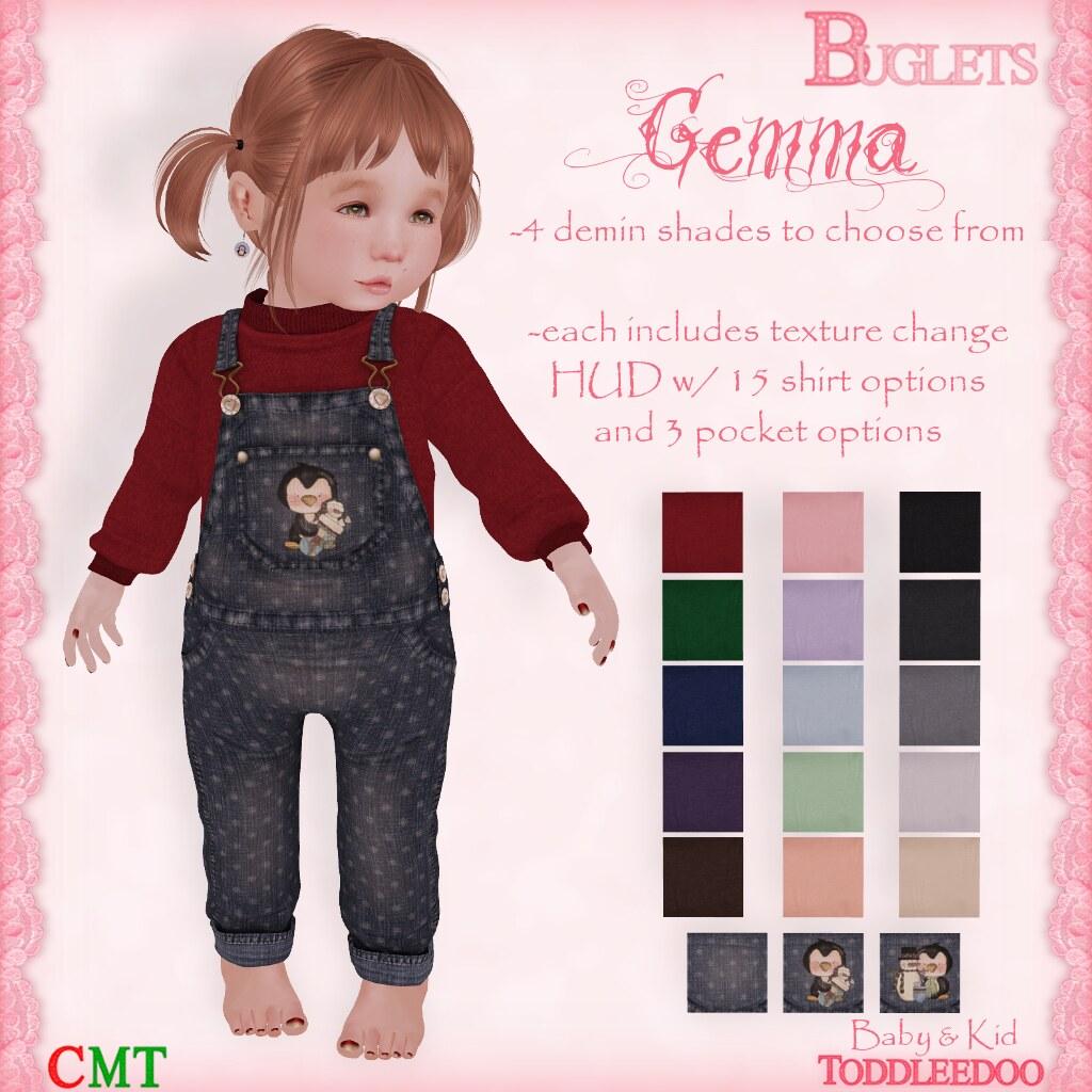 TD Gemma Outfit AD - SecondLifeHub.com