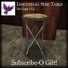 [ free bird ] Industrial Side Table Ad