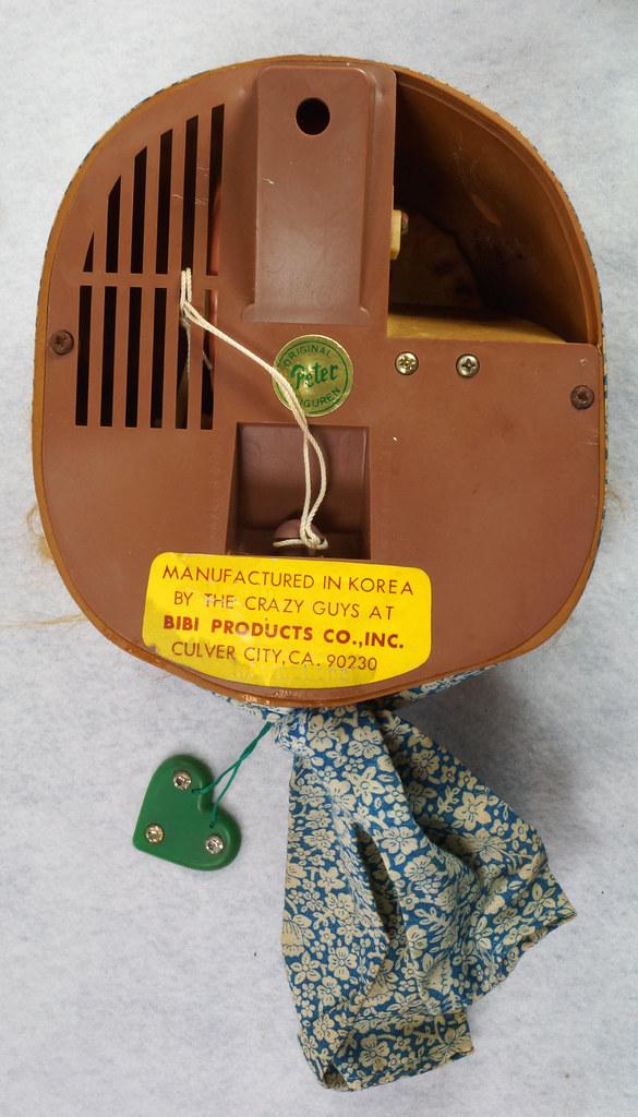 RD10680 Vintage Laffun Head Bibi Products Peter Figuren Old Woman DSC08335