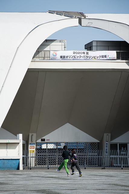 Detail of Komazawa Olympic Park Stadium (駒沢オリンピック公園総合運動場陸上競技場)