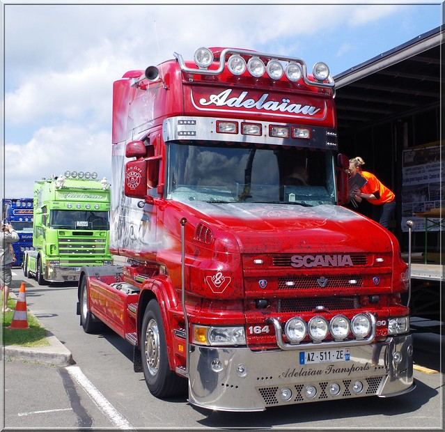 Flickriver photoset 39 scania 7 39 by camion 39 heur - Buffalo grill avrainville ...