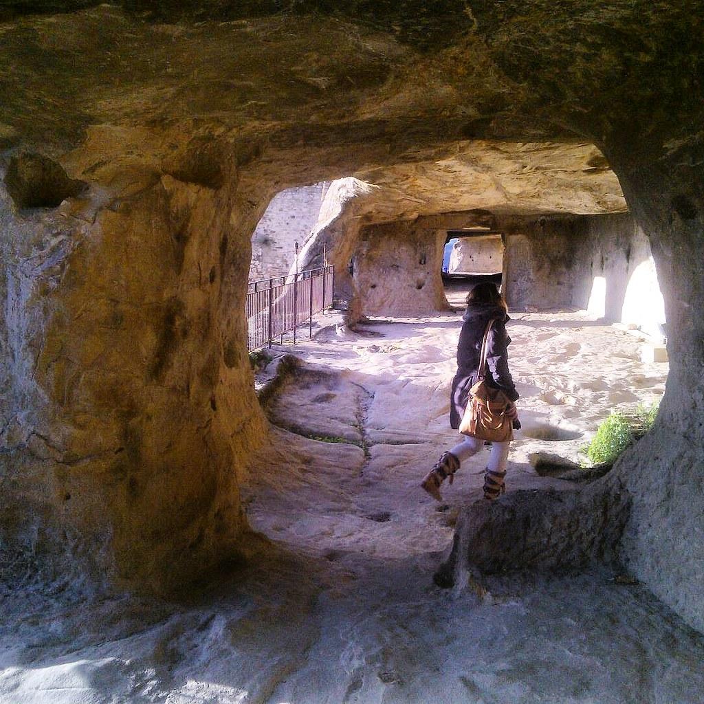Corridoi del Castello di Sperlinga