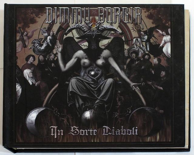 DIMMU BORGIR - IN SORTE DIABOLI (CD & DVD & Mirror, Digipak)