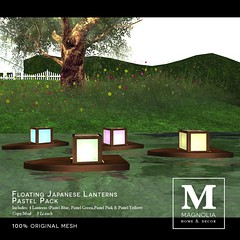 Japanese Lanterns - Pastel