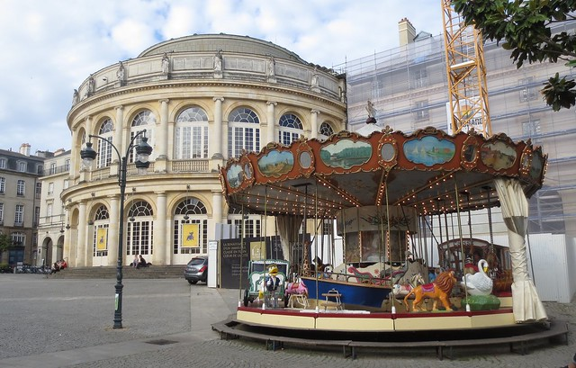 Carousel & Opera House, Rennes