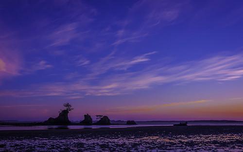 ocean light sky naturaleza sun beach nature water oregon strand sunrise landscape haze saturated nikon purple bright archive lavender clarity older colored states lavanda pished d90