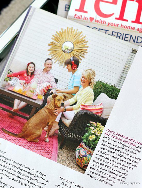 Hi Sugarplum | BHG Refresh Magazine Feature