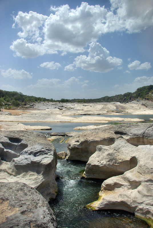 Marble Falls limestone, Pedernales Falls State Park, Blanco County, Texas 2