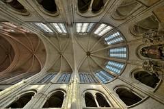 Senlis (Oise) - Cathédrale Notre-Dame - Voûte du choeur