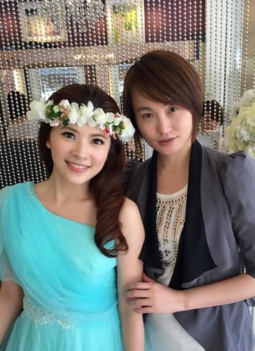 [推薦]高雄聖羅雅麗緻婚紗全方面打造質感婚紗照_造型老師:林貞華Joan