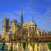 Notre Dame Cathedral & River Seine