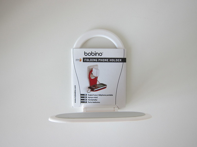 Kikkerland Bobino Folding Mobile Phone Holder - With Label