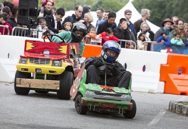Power Wheel Racing World Maker Faire 2016