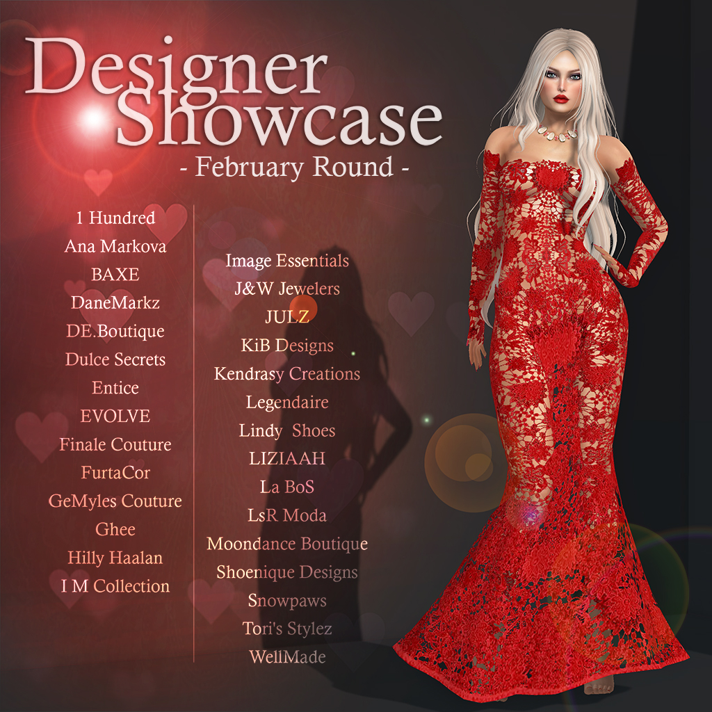 Designer Showcase February-2017 - SecondLifeHub.com