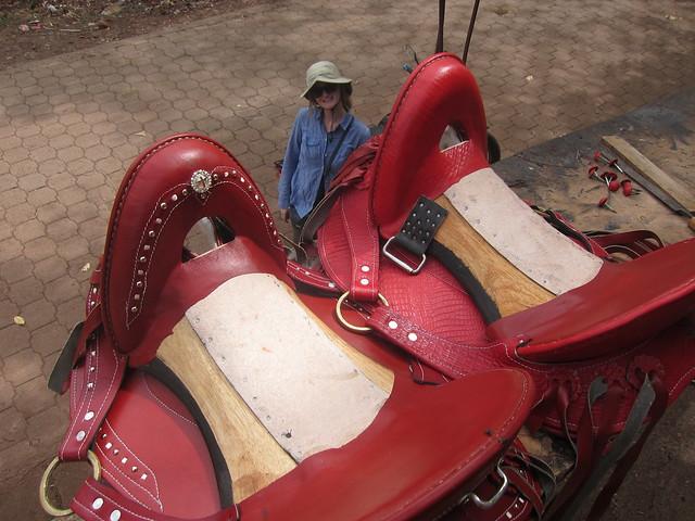 More Leatherwork in Camoapa