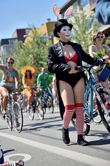 Fremont Summer Solstice Parade Cyclist 2015 (681)