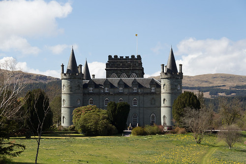 Inveraray Castle (from the bridge into town)