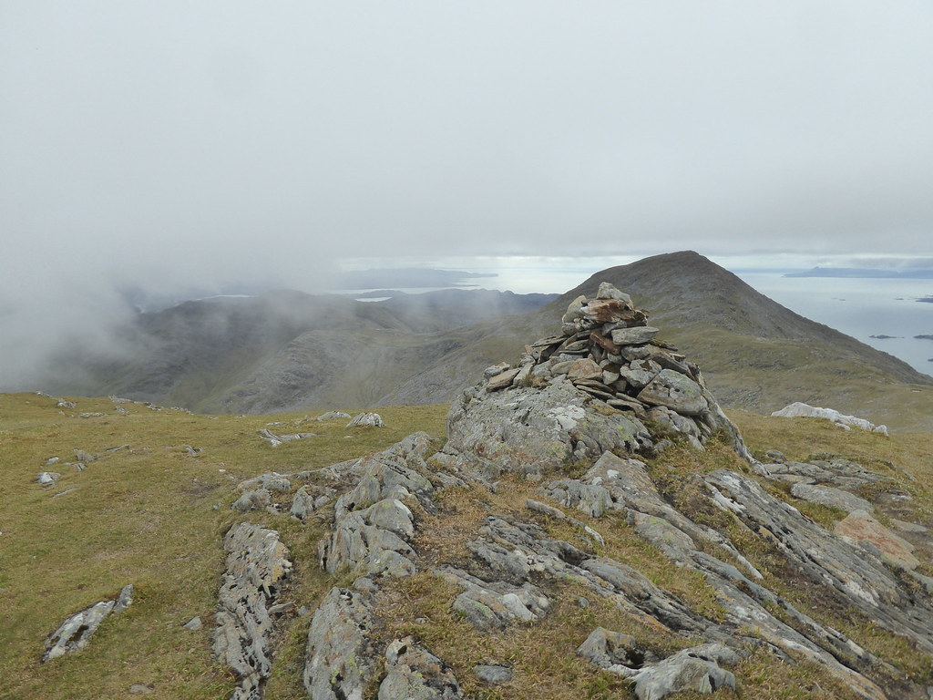 An Stac from Sgurr na Ba Glaise