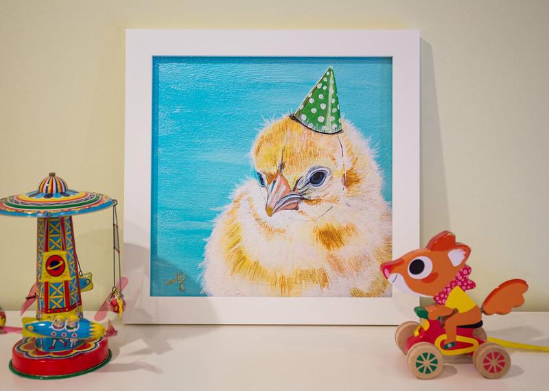 Chick nursery  print