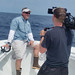 Dr. Greg Stunz during the Shark Week segment featured on Discovery Channel.