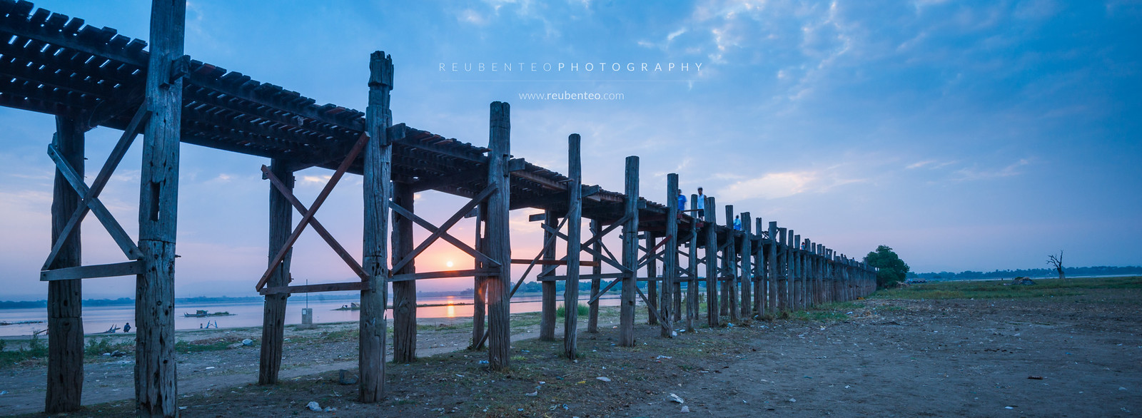 U-Bein Bridge Sunrise