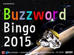 Buzzword Bingo 2015