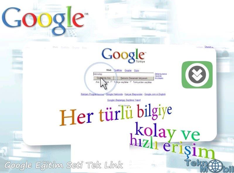 Google Eğitim Seti Türkçe