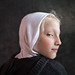 Girl with White Hood by PhotoAtelier