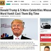 My latest for #etnow #EntertainmentTonight on #donaldtrump and his idiotic statements about #mexican #latino #latism. We are everywhere, Donald! Stop being #messy and #racist.   http://m.etonline.com/news/167261_donald_trump_and_5_more_celebrities_whose_w