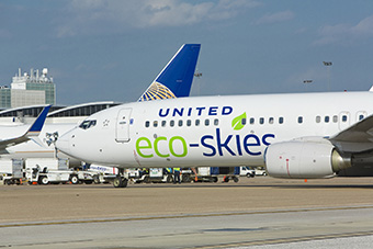 United B737-800 EcoSkies (United)