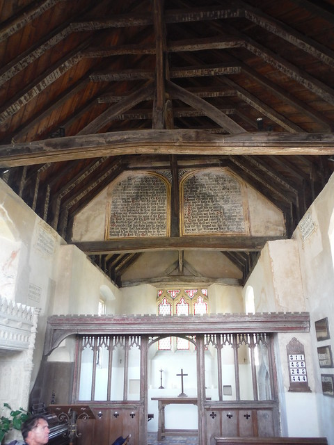 Church in Burton Park, Interior