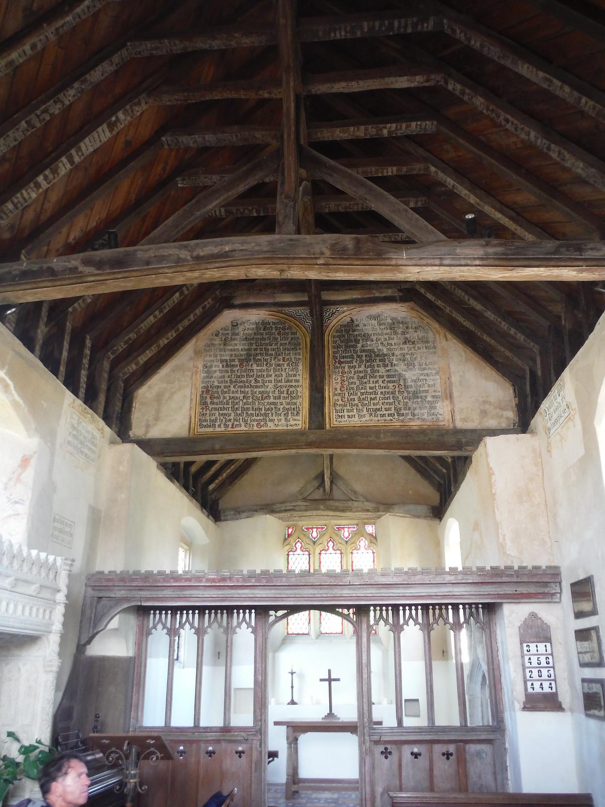 Church in Burton Park, Interior SWC Walk 217 Midhurst Way: Arundel to Midhurst