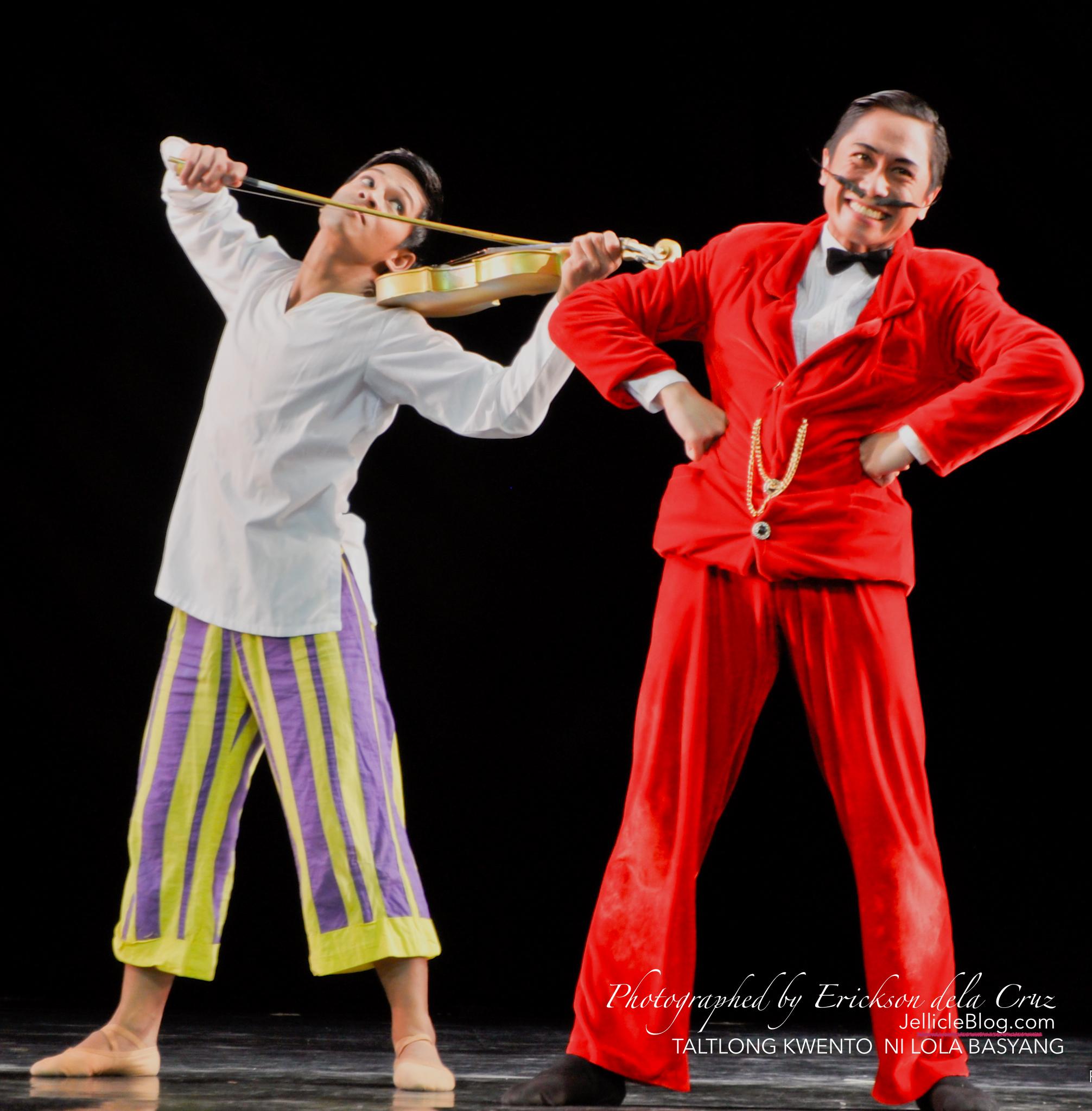 Ballet Manila's TALTONG KWENTO NI LOLA BASYANG