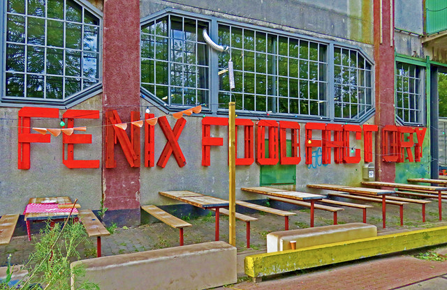 The Fenix Food Factory in Rotterdam provides a unique dining and drinking experience...