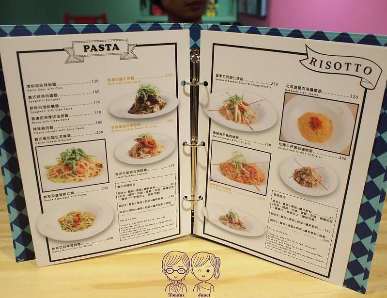 19 Fantasy Diner menu