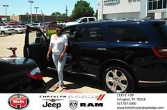 #HappyBirthday to Divina Jackson from Gabe Maldonado at Holt Chrysler Jeep Dodge!
