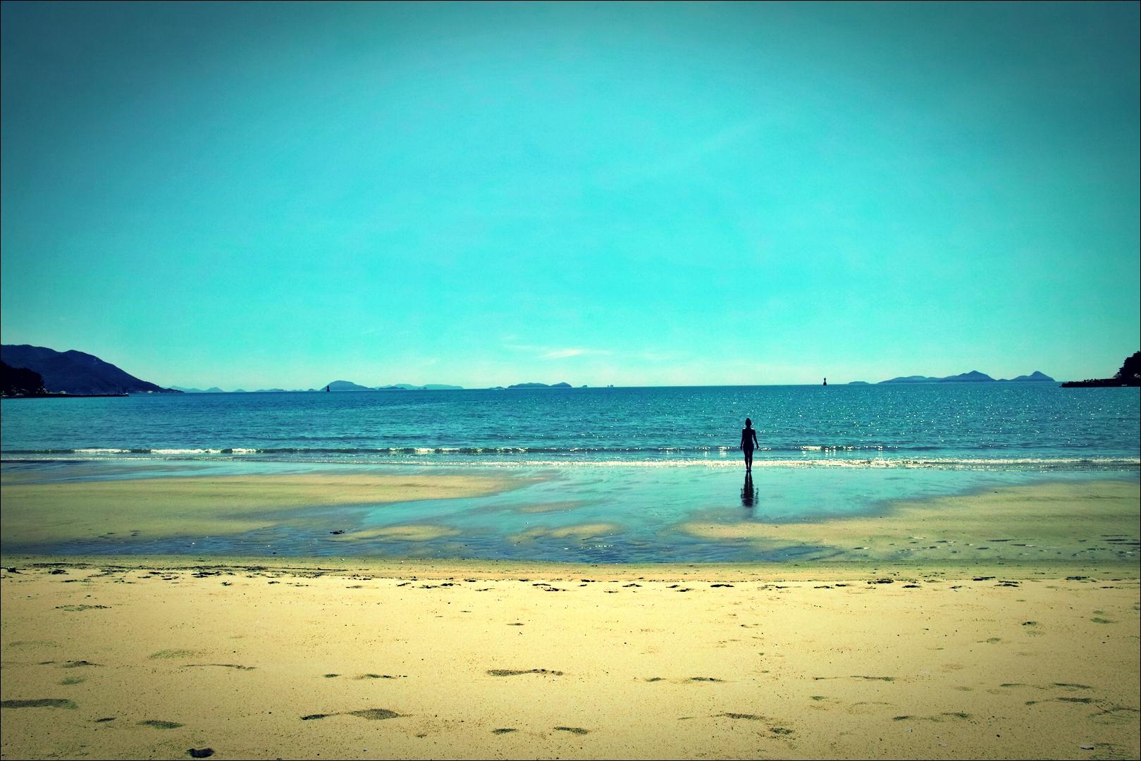 해변-'덕적도 서포리 해수욕장 백패킹'
