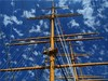 Masts, sky and clouds by Ostseetroll