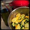 #Homemade #PastaAllaMariona #Zucchini #CucinaDelloZio - toss zucchini w/olive oil