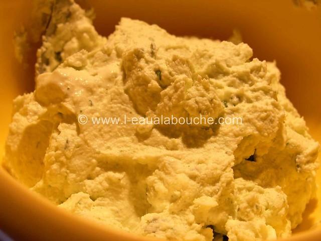 Gaspacho & sa Quenelle de Mozzarella au Basilic  © Ana Luthi Tous droits réservés 6